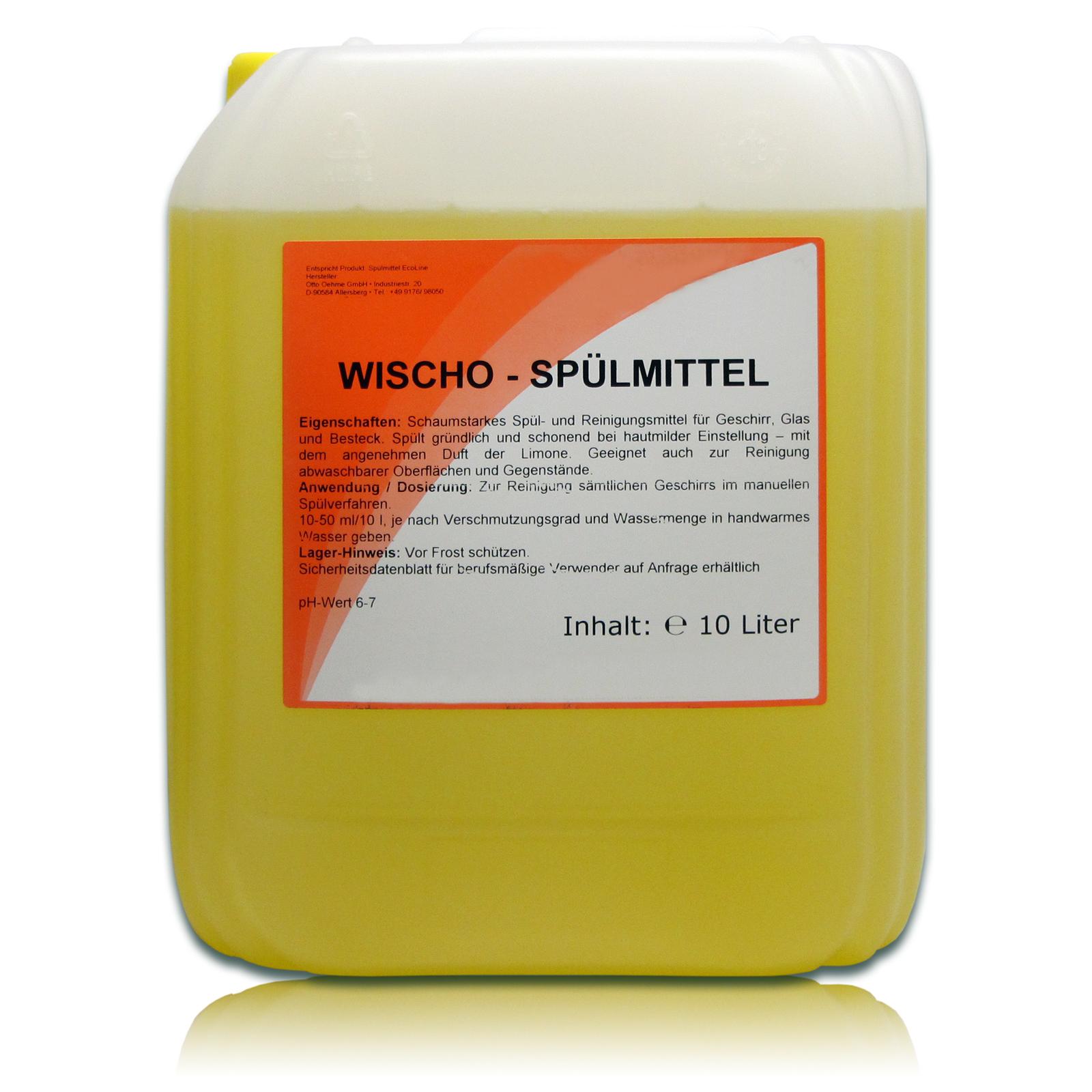 10 Liter Spülmittel / Geschirrspülmittel PLUS hochkonzentriert