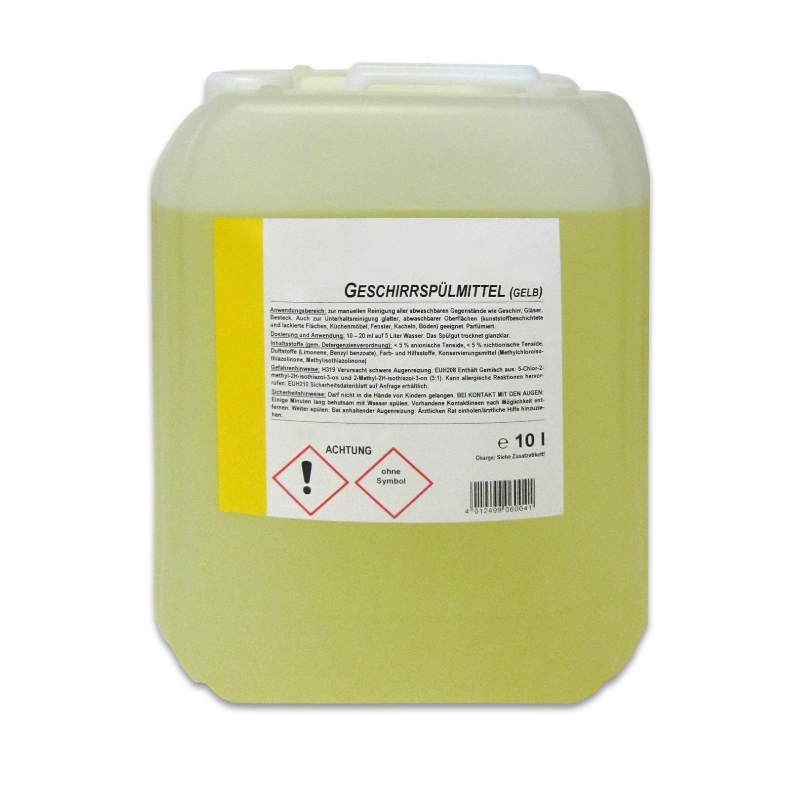 10 Liter Spülmittel / Geschirrspülmittel